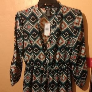 Justify Long Blouse With Tags